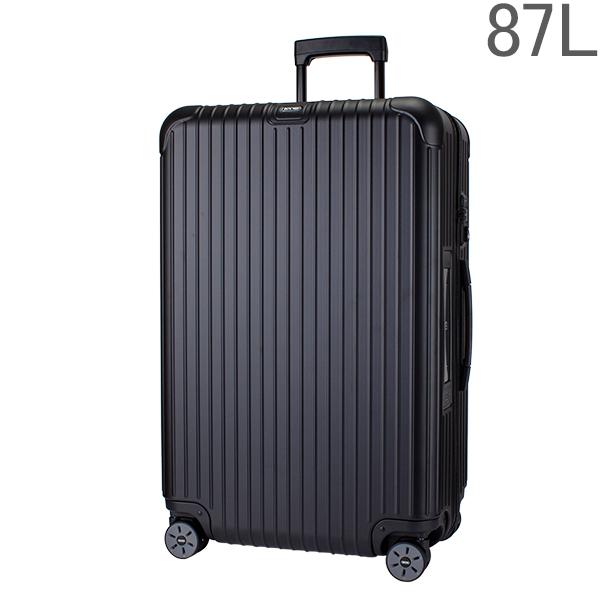 リモワ RIMOWAサルサ 811.73.32.5 マルチホイール 4輪 スーツケース マットブラック MULTIWHEEL 87L 電子タグ 【E-Tag】