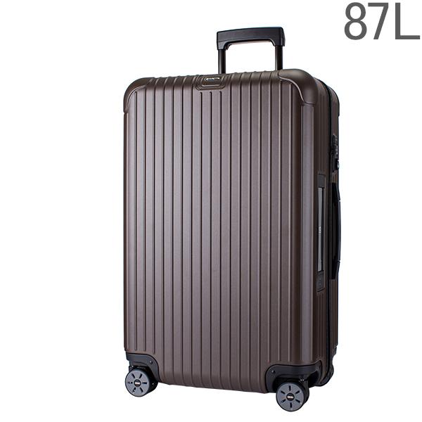 【ポイント2倍 4/16,01:59まで】リモワ RIMOWAサルサ 811.73.38.5 SALSA 4輪 MultiWheel matte bronze マットブロンズ スーツケース 87L 電子タグ 【E-Tag】