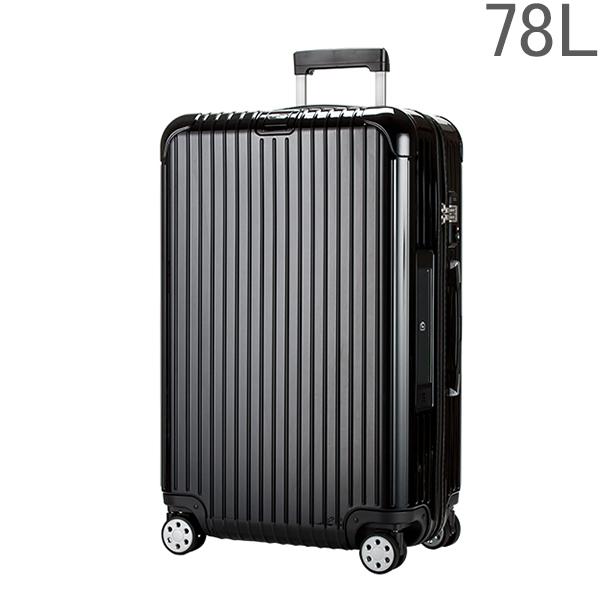 リモワ RIMOWA【4輪】 サルサ デラックス 831.70.50.5 スーツケース マルチ 【Salsa Deluxe 】 Multiwheel ブラック 78L 電子タグ 【E-Tag】