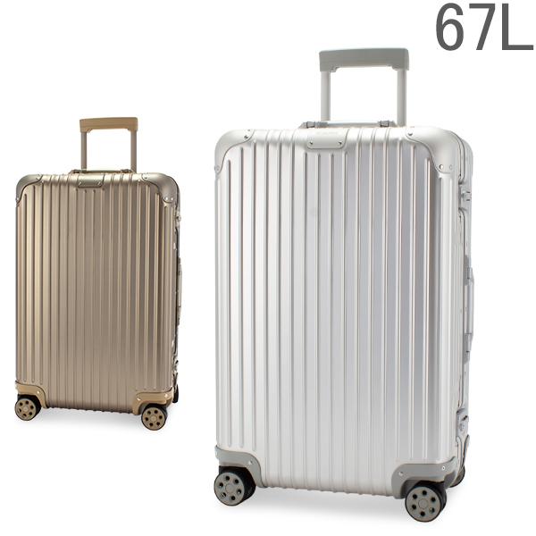 リモワ RIMOWA 【Newモデル】 オリジナル 925630 チェックイン M 67L 4輪 スーツケース Original Check-In M キャリーケース 旧 トパーズ