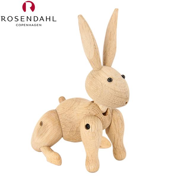 【最大200円OFFクーポン 4/16,01:59まで】Rosendahl ローゼンダール EU正規品 ラビット・ウサギ 木のオブジェ 木製玩具 Kay Bojesen Rabbit, oak 39203