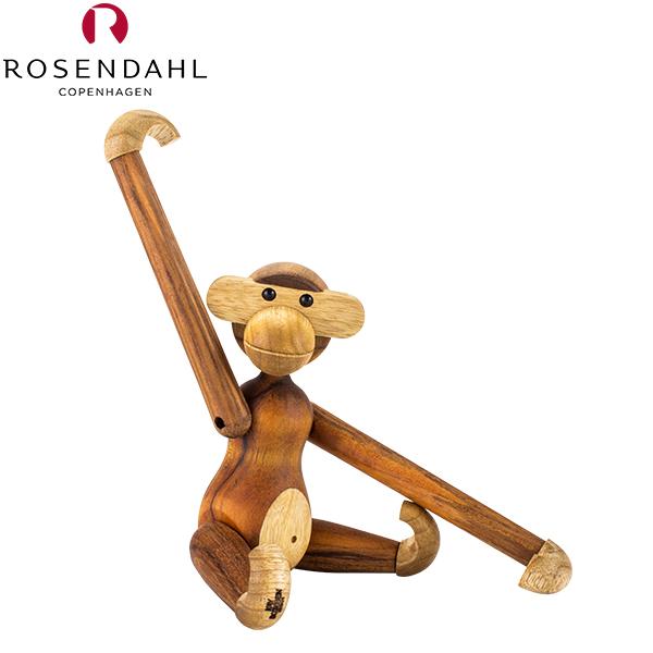 Rosendahl ローゼンダール EU正規品 モンキー (猿) S 木のオブジェ 木製玩具 Kay Bojesen Monkey, small, teak/limba 39250