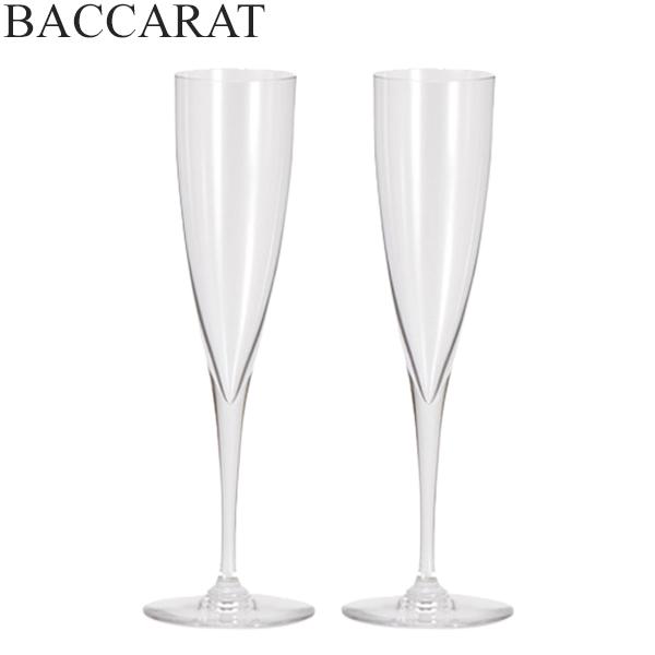 【5%還元】【あす楽】Baccarat (バカラ) ドンペリニヨン フルート シャンパングラス 2個セット 1845244 DOM PERIGNON FLUTE CHAMPAGNE X2 クリア