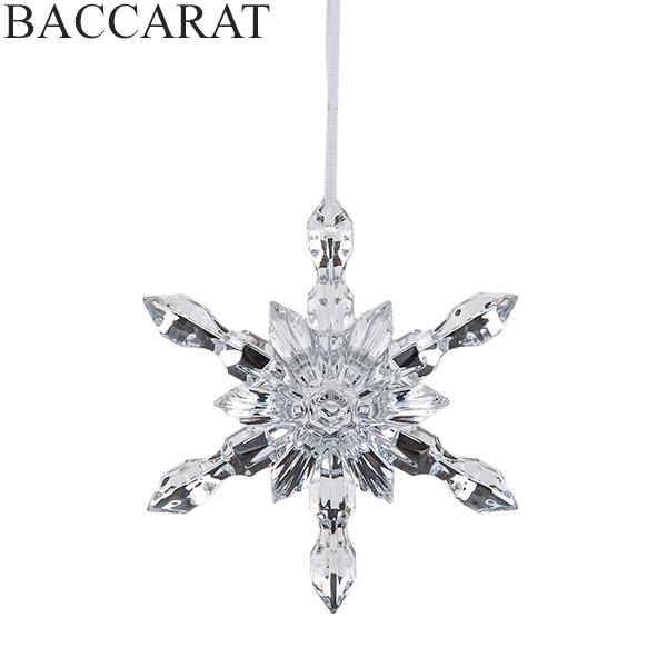 バカラ Baccarat クリスマス オーナメント ノエル スノーフレーク シルバー NOEL SNOWFLAKE 2812403 クリスタル ガラス インテリア デコレーション 新生活
