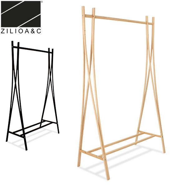ジリオ A&C Zilio A&C コートスタンド TRA-RA ハンガーラック コートハンガー 木製 ドレスラック おしゃれ 家具 5%還元 あす楽