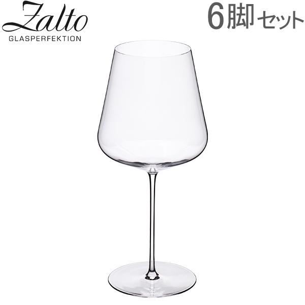 【あす楽】 ザルト Zalto ボルドー ワイングラス 6脚セット ハンドメイド 11 200 Zalto DENK'ART Bordeaux Clear ペアグラス おしゃれ プレゼント ギフト 贈り物【5%還元】
