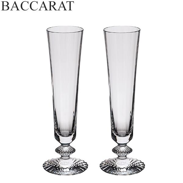【全品あす楽】バカラ Baccarat シャンパンフルート ペア ミルニュイ シャンパングラス クリスタル 2811795 Mille Nuits Flute グラス ワイングラス プレゼント