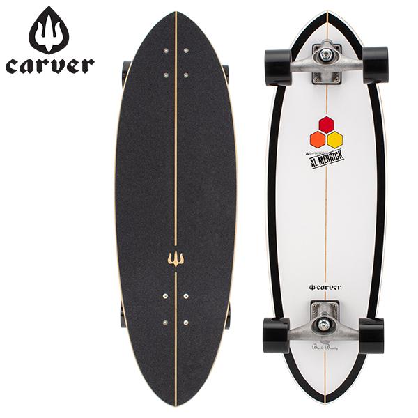【5%還元】【あす楽】カーバー スケートボード Carver Skateboards スケボー CX コンプリート 31.75インチ ブラックビューティー CI Black Beauty Complete