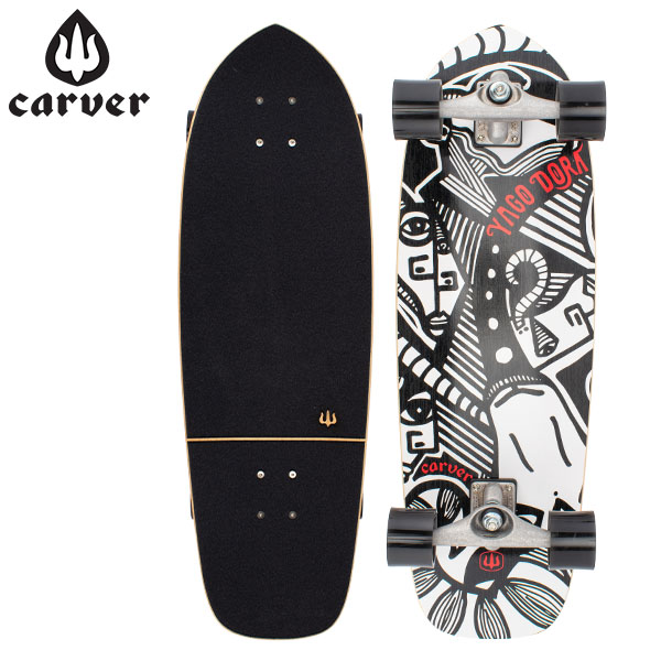 【5%還元】【あす楽】カーバー スケートボード Carver Skateboards スケボー CX コンプリート 30.75インチ C1013011023 ヤゴ スキニーゴート Yago Skinny Goat