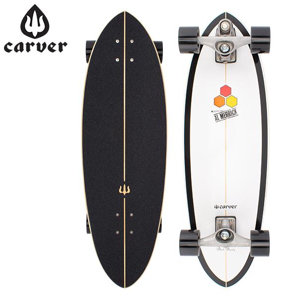 【5%還元】【あす楽】カーバー スケートボード Carver Skateboards スケボー C7 コンプリート 31.75インチ ブラックビューティー CI Black Beauty Complete