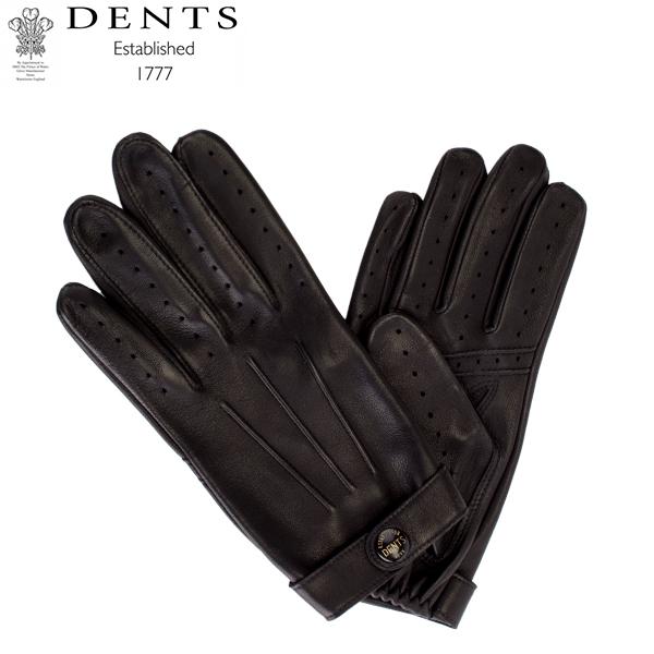 デンツ Dents 手袋 メンズ Flemming レザーグローブ シープスキン ジェームスボンド レザー 羊革 ヘアシープ グローブGloves (M) 15-1007