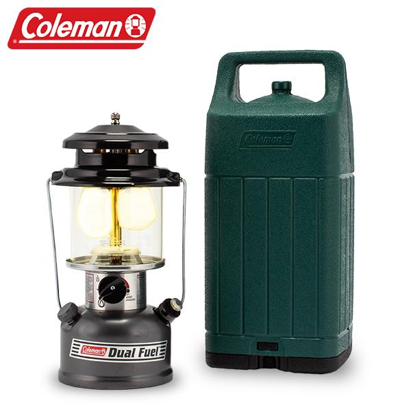 コールマン Coleman ランタン ツーマントル デュアルフューエル ランタン ケース付 3000004257 野外 アウトドア キャンプ 照明 ライト