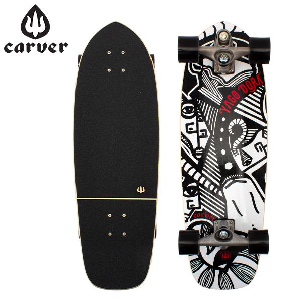 【最大200円OFFクーポン 4/16,01:59まで】カーバースケートボード Carver Skateboards C7 コンプリート 30.75インチ ヤゴ スキニーゴート Yago Skinny Goat C1013011023 スケボー