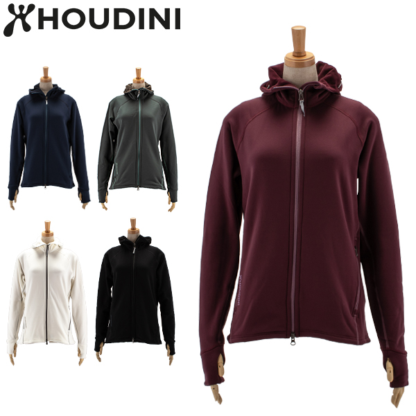 【あす楽】 フーディニ Houdini パーカー パワー フーディ W's Power Houdi 125984 フリース フリースジャケット 暖かい レディース【5%還元】【ファッション特集】