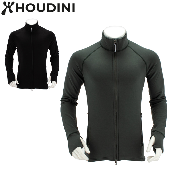 【5%還元】【あす楽】フーディニ Houdini フリース パワージャケット M's Power Jacket 225974 フリースジャケット 暖かい メンズ 着心地