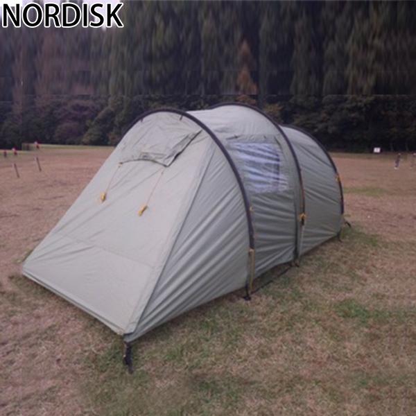 【全品あす楽】ノルディスク NORDISK レイサ 4人用 テント 4PU 122030 ダスティーグリーン Reisa 4 PU - Aluminium Dusty Green キャンプ アウトドア