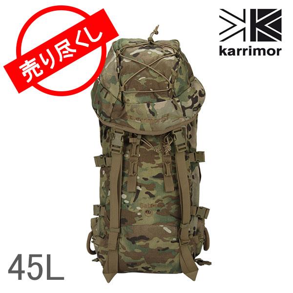【赤字売切り価格】karrimor カリマー Backpack バックパック SF Sabre 45 SF セーバー45 Multicam マルチカム 45L M040M1 リュックサック ミリタリー アウトレット