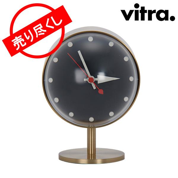 【赤字売切り価格】Vitra ヴィトラ Desk Clocks デスク クロック 時計 Night Clock Brass ブラス (215 021 01) 215 021 01 アウトレット