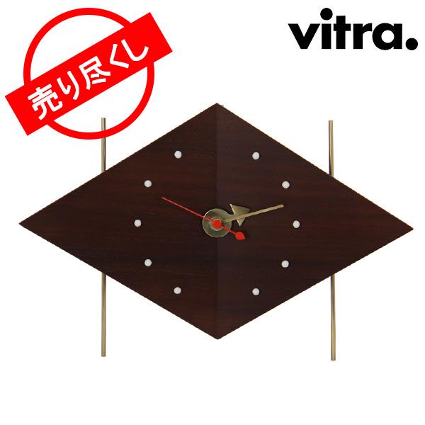 【最大10%OFFクーポン】【赤字売切り価格】Vitra ヴィトラ Desk Clocks デスク クロック 時計 Diamond Clock Walnut ウォールナット 215 032 01 アウトレット