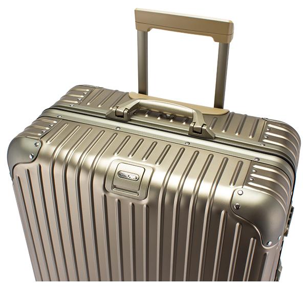 リモワ RIMOWA トパーズ チタニウム 82L 924.70.03.4 Topas Titanium Multiwheel チタンゴールド (シャンパンゴールド) スーツケース 4輪 マルチホイール