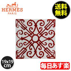 Hermes エルメス Balcon du Guadalquivir Square Plate No.4 スクエアプレート 皿 19x19cm 011044P 新生活