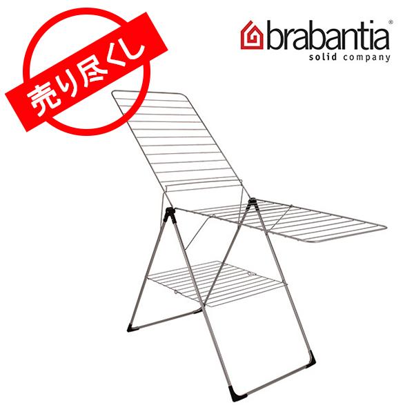 【赤字売切り価格】Brabantia ブラバンシア 洗濯物干し Drying Rack ドライングラック Metallic Grey メタリックグレー 350184 室内干し アウトレット