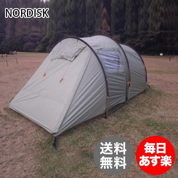 ノルディスク NORDISK レイサ 4人用 テント 4PU 122030 ダスティーグリーン Reisa 4 PU - Aluminium Dusty Green キャンプ アウトドア