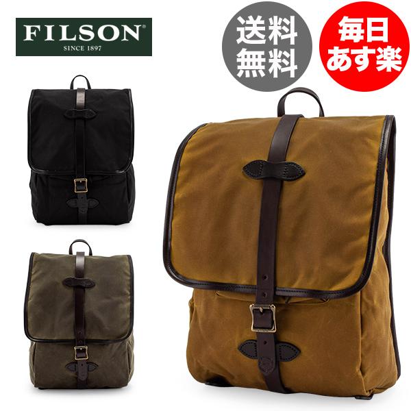 【全品3%OFFクーポン】FILSON フィルソン Tin Cloth Backpack ティンクロスバッグパック 70017