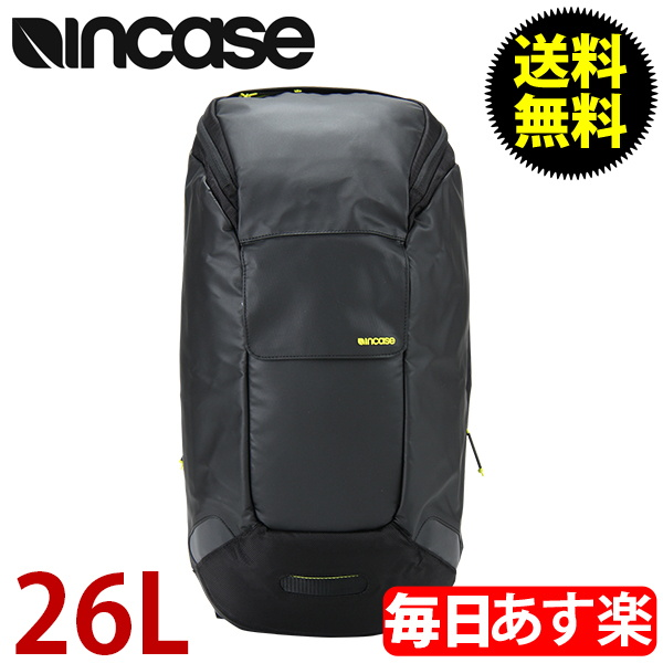 INCASE インケース Incase Range Backpack Large インケースシティコレクションコンパクトバックパック 26L Black/Lumen ブラック/ルーメン CL55541 バックパック リュック iPad