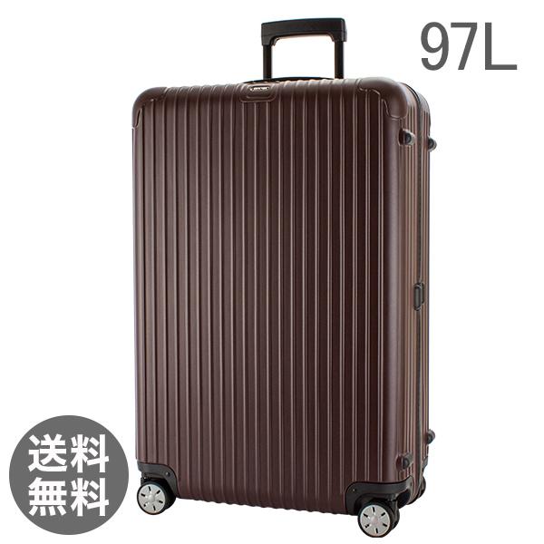 【全品3%OFFクーポン】RIMOWA リモワ スーツケース サルサ マルチウィール 97L キャリーバッグ キャリーケース 旅行 カルモナレッド 810.77.14.4 SALSA MultiWheel