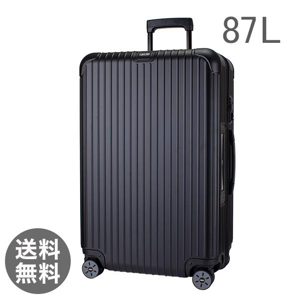 【E-Tag】 電子タグ RIMOWA リモワ サルサ 811.73.32.5 マルチホイール 4輪 スーツケース マットブラック MULTIWHEEL 87L