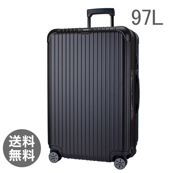 【3%OFFクーポン】RIMOWA リモワ サルサ 811.77.32.5 マルチホイール 4輪 スーツケース ブラック MULTIWHEEL 97L 電子タグ 【E-Tag】