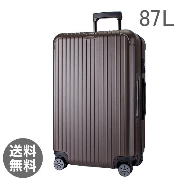 【E-Tag】 電子タグ RIMOWA リモワ サルサ 811.73.38.5 SALSA 4輪 MultiWheel matte bronze マットブロンズ スーツケース 87L