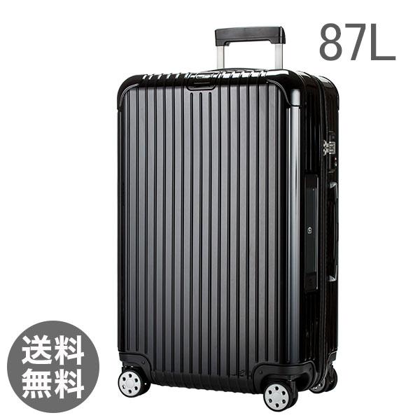 【E-Tag】 電子タグ RIMOWA リモワ サルサデラックス 831.73.50.5 【4輪】 スーツケース マルチ 【SALSA DELUXE】 ブラック Multiwheel 87L