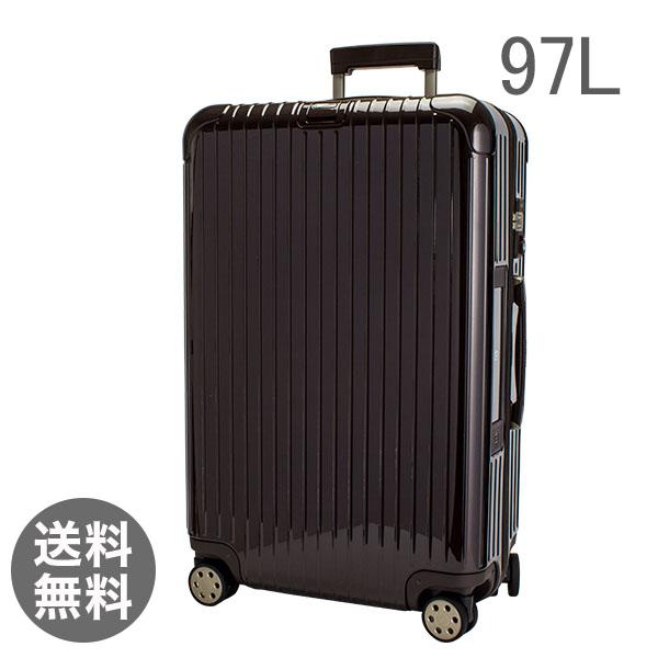 【全品3%OFFクーポン】RIMOWA リモワ 【4輪】 サルサ デラックス 831.77.52.5 スーツケース マルチ 【Salsa Deluxe 】 Multiwheel ブラウン 97L 電子タグ 【E-Tag】