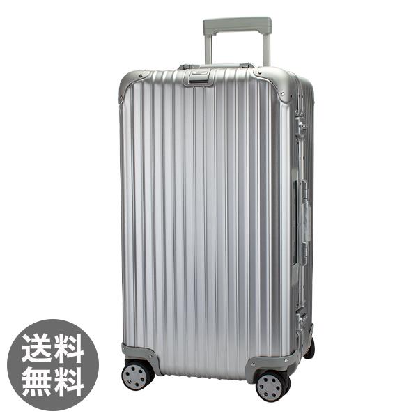 【E-Tag】 電子タグ RIMOWA リモワ トパーズ 923.75.00.5 Topas スポーツ 4輪Sport MultiWheel Silver シルバー スーツケース 89L