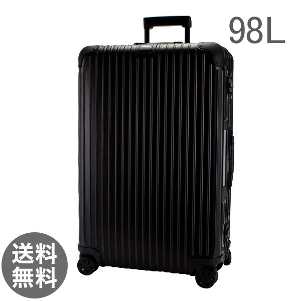【E-Tag】 電子タグ RIMOWA リモワ トパーズ ステルス 98L 924.77.01.5 TOPAS STEALTH マルチホイール 【4輪】 ブラック ( スーツケース )
