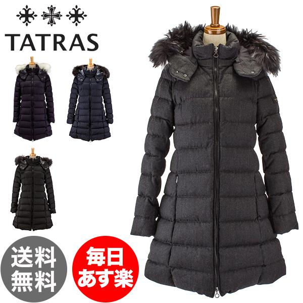 【国内検針済】タトラス Tatras ダウンコート レディース セミロング ファー / フード付 LAVIANA ラヴィアナ LTA18A4571 / LTA19A4571