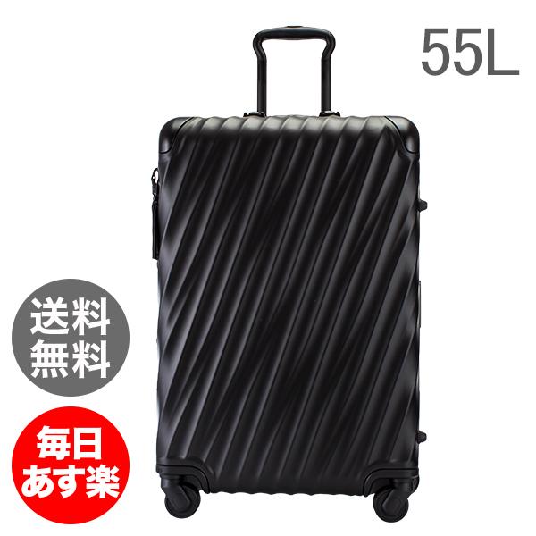 【全品3%OFFクーポン】トゥミ TUMI スーツケース 55L 4輪 19 Degree Aluminum ショート・トリップ・パッキングケース 036864MD2 マットブラック キャリーケース キャリーバッグ