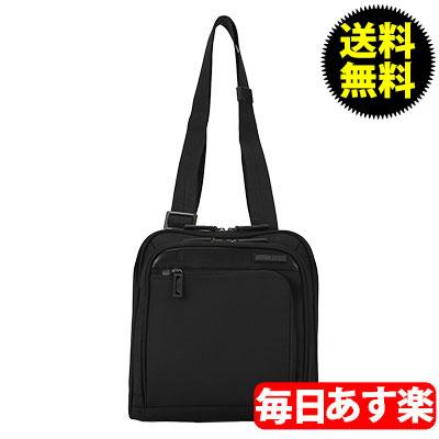 ZERO Halliburton ゼロハリバートン Profile プロファイル Shoulder Bag ショルダーバッグ Black ブラック PRF201 ボディバッグ ビジネスバッグ