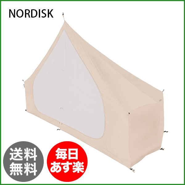 ノルディスク NORDISK インナーキャビン (1pc) アスガルド 12.6用 144011 Cabin Asgard 12.6 個室 キャンプ アウトドア