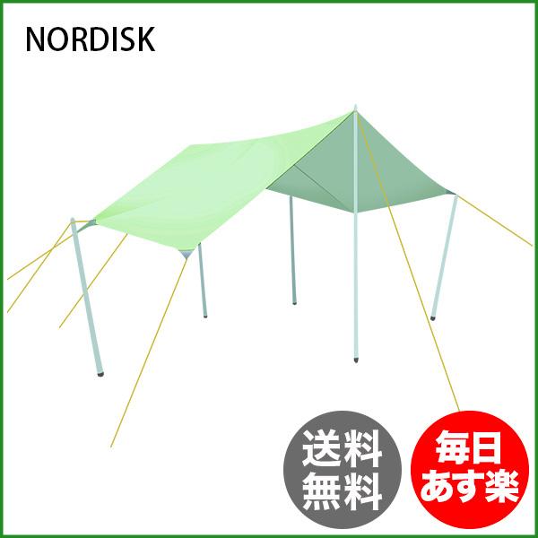ノルディスク NORDISK タープ ヴォス 14 PU 127007 ダスティーグリーン Voss 14 Dusty Green - incl. guy-ropes キャンプ テント アウトドア