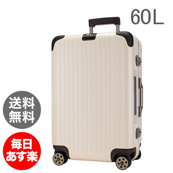 【E-Tag】 電子タグ リモワ Rimowa スーツケース 60L リンボ 4輪 882.63.13.5 マルチホイール クリームホワイト Limbo Multiwheel Creme White キャリーケース