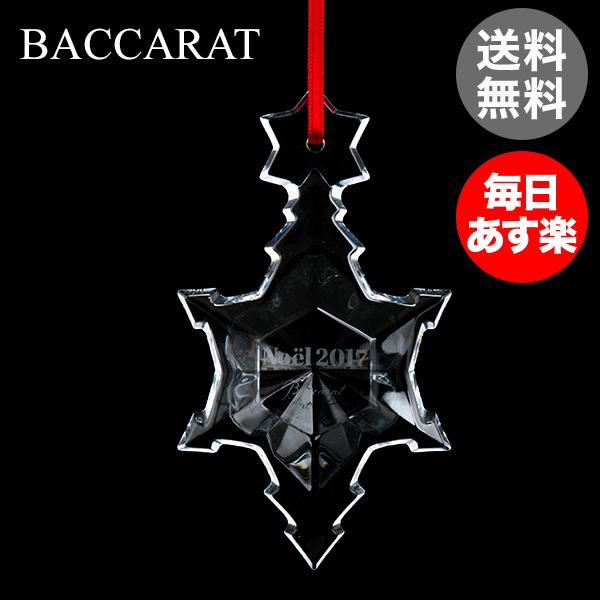 バカラ Baccarat クリスマスオーナメント ノエル クリア 雪の結晶 クリスタル クリスマス 2811189 Noel Ornament