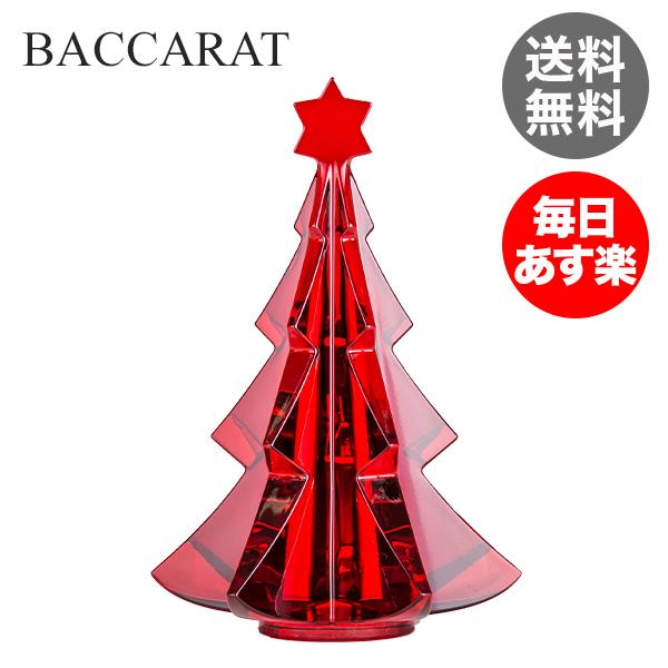 バカラ Baccarat 置物 クリスマスオーナメント ノエル メリベル ツリー レッド インテリア 2811542 Noel Tree 新生活