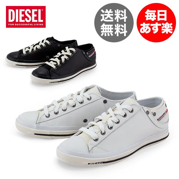 ディーゼル Diesel スニーカー メンズ レザー 本革 エクスポージャー LOW 1 Exposure Low I Y00321 PR052 靴 シューズ おしゃれ カジュアル ギフト