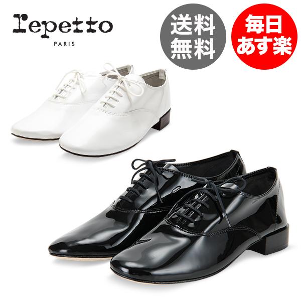 レペット Repetto レースアップシューズ ジジ エナメル V377V MYTHIQUE FEMME ZIZI レディース レザー オックスフォードシューズ 革靴 ミティークファム