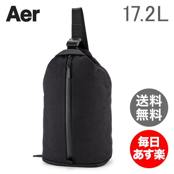 【3%OFFクーポン】エアー AER ショルダーバッグ 17.2 L スリングバッグ 2 AER11003 ブラック SLING BAG 2 BLACK メンズ レディース ジム ビジネス ナイロン