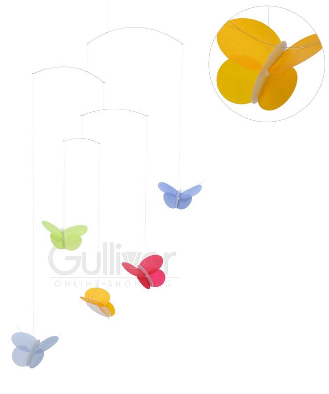 可FLENSTED mobiles furensuteddomobiru Butterflies蝴蝶蝴蝶30111北欧猫Point Of Sales发送包对应