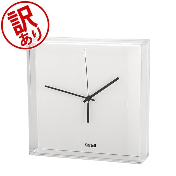 【訳あり】 カルテル Kartell 時計 ティックタック 正規品 掛け時計 置き時計 おしゃれ インテリア 1900 Tic Tac Clock (Matte) 5%還元 あす楽